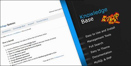 اسکریپت دانش نامه (سوالات متداول) Knowledge Base