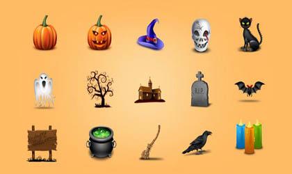 آیکون های بسیار زیبای Halloween