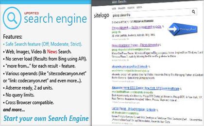 اسکریپت PHP موتور جستجوی بسیار زیبا