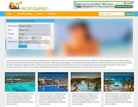 20S travel agency اسکریپت آژانس مسافرتی Travel Agency