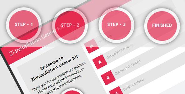 فرم چند مرحله ای برای نصب اسکریپت