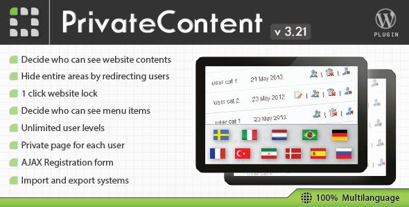 ایجاد سطح دسترسی برای مطالب PrivateContent نسخه 3.21