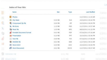 اسکریپت نمایش لیست فایل ها PHP Directory Explorer