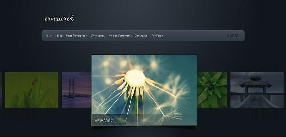 قالب وردپرس Envisioned نسخه 3.2 الگانت تم