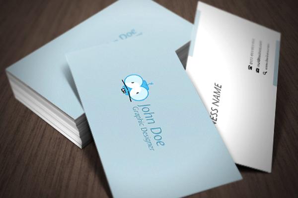 فایل لایه باز کارت ویزیت شماره 3