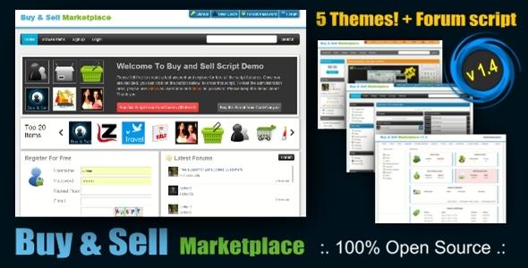 اسکریپت فروشگاه ساز Buy & sell نسخه ۱٫۴