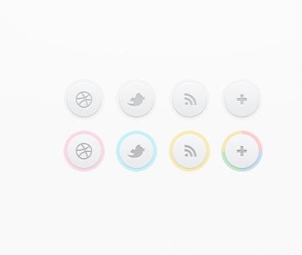 دانلود دکمه های شبکه اجتماعی بسیار زیبا CSS3