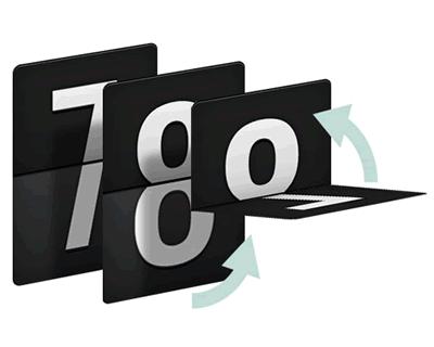 ایجاد یک درام 3D شمارش معکوس با CSS و جاوا اسکریپت