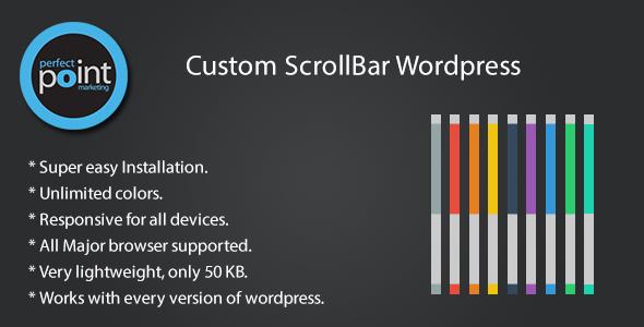 افزونه ی تغییر scrollbar در وردپرس