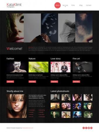 قالب html5 بسیار زیبا و حرفه ای