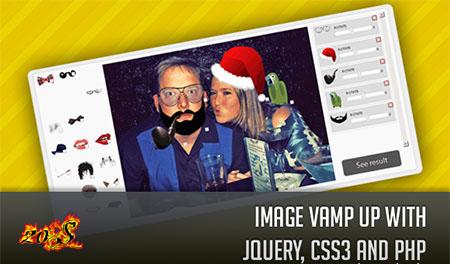 اسکریپت ساخت تصاویر جالب با Image Vamp Up