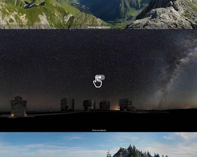 تصاویر را به صورت پانوراما قرار بدید جی کوئری