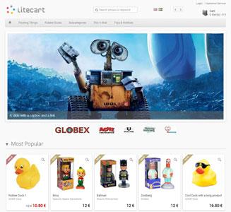 اسکریپت فروشگاه ساز LiteCart نسخه 1.0.1.2