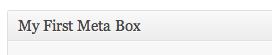 آموزش ایجاد Meta Box در وردپرس