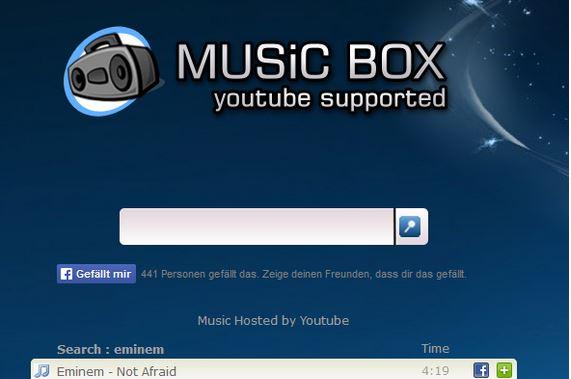 اسکریپت موتور جستجوی موزیک Music Box با پشتیبانی از یوتیوب