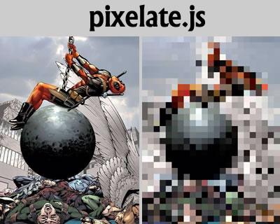 شطرنجی کردن عکس به صورت جی کوئری