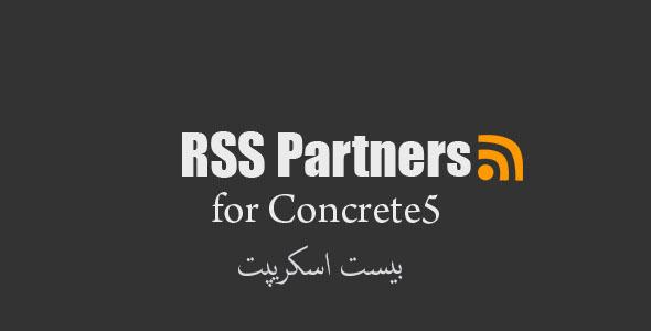 پلاگین ایجاد یک لیست از RSS همکاران با RSS Partners