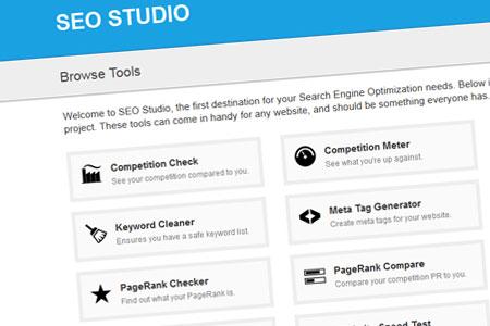 اسکریپت ابزار وبمستر سئو SEO Studio