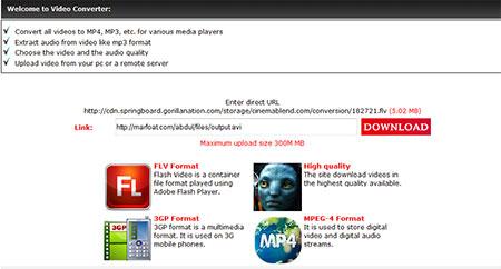 اسکریپت تبدیل آنلاین ویدئو Video Converter