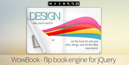 اسکریپت ایجاد صفحات Flip Book با اسکریپت WOWBook