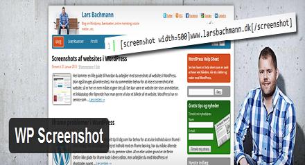 پلاگین اسکرین شات سایت های دیگر برای وردپرس