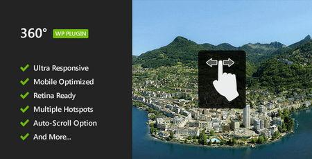 افزونه نمایش تصاویر 360 درجه ای پانوراما در وردپرس