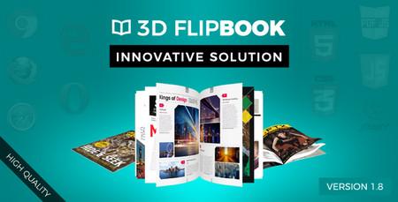 ساخت کتاب های دیجیتالی 3D با اسکریپت FlipBook