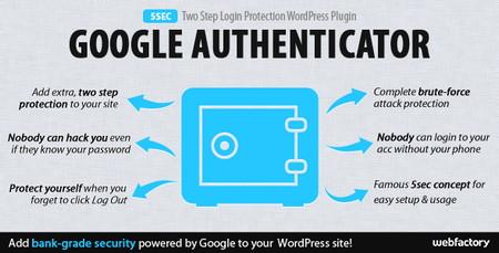 افزونه افزایش امنیت و احراز هویت دو مرحله ای وردپرس 5sec Google Authenticator