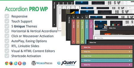 افزونه وردپرس اسلایدر پیشرفته با اكوردئون نسخه 2