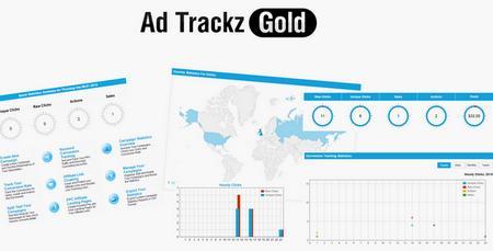 اسکریپت کسب درآمد از بازدیدکننده Ad Trackz Gold نسخه 6.9
