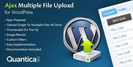 افزونه آپلود همزمان چندین فایل در وردپرس به صورت Ajax
