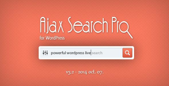 افزونه جستجوگر آژاکس Ajax Search Pro نسخه 3.5 برای وردپرس
