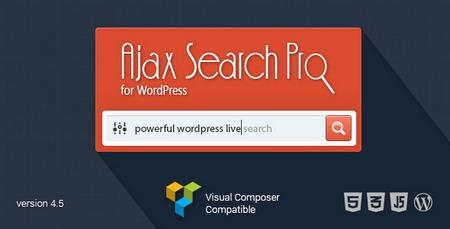 افزونه جستجوگر آژاکس Ajax Search Pro نسخه 4.7.0 برای وردپرس