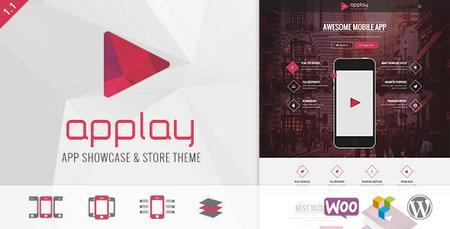 دانلود قالب وردپرس دانلود App گوشی موبایل Applay