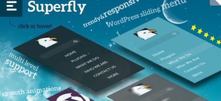 افزونه منوساز سوپرفلای Superfly Menu Plugin v1.5.9
