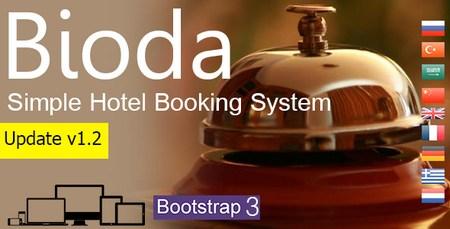 سیستم رزرواسیون هتل Bioda نسخه 1.2