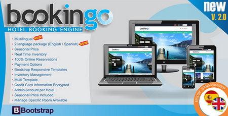 اسکریپت وب سایت رزرو هتل Bookingo نسخه ۱.۶