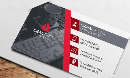دانلود فایل لایه باز کارت ویزیت شرکتی شماره 8