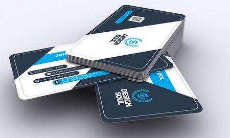 دانلود فایل لایه باز کارت ویزیت شرکتی شماره 10