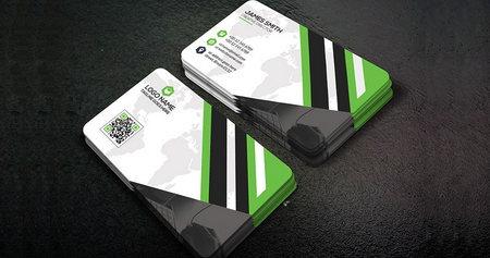 دانلود فایل لایه باز کارت ویزیت شرکتی شماره 15