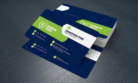 دانلود فایل لایه باز کارت ویزیت شرکتی شماره 21