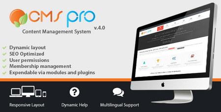 اسکریپت مدیریت محتوا CMS pro نسخه 4.10
