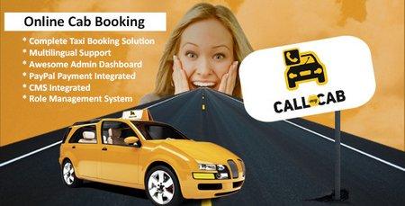 اسکریپت سیستم رزرو آنلاین تاکسی Call My Cab