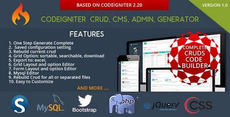 اسکریپت مدیریت محتوا Codeigniter CMS