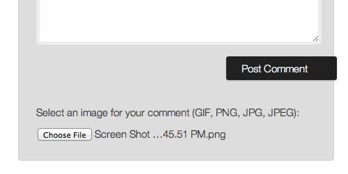 افزونه وردپرس آپلود عکس در دیدگاه Comment Images