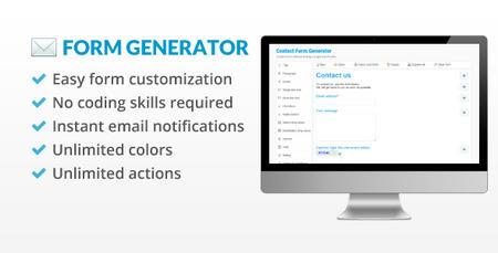 اسکریپت ساخت فرم تماس باما هوشمند با Contact Form Generator نسخه 2.5