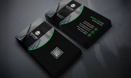دانلود فایل لایه باز کارت ویزیت شرکتی شماره 17