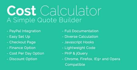 اسکریپت ماشین حساب محاسبه هزینه با درگاه پرداخت آنلاین نسخه ۱٫۵٫۲