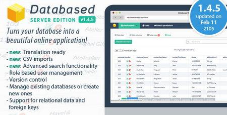 اسکریپت بانک اطلاعات Database Application Platform