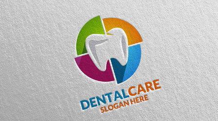 دانلود فایل لایه باز لوگو دندان و دندانپزشکی شماره 2
